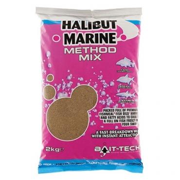 BAIT TECH HALIBUT MARINE METHOD MIX (2 KG)