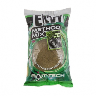 BAIT TECH ENVY GREEN HEMP-HALIBUT METHOD MIX (2 KG)