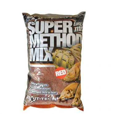 BAIT TECH SUPER METHOD MIX RED (2 KG)