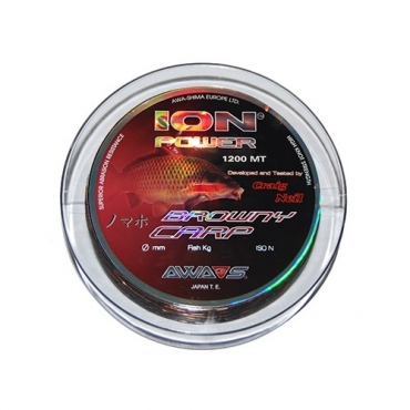 NYLON AWA SHIMA BROWNY CARP (0.331 MM-1200 M)