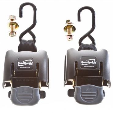 BOAT BUCKLE TRANSOM RETRACTABLE TIE-DOWN SYSTEM 5000 LB (2ud)