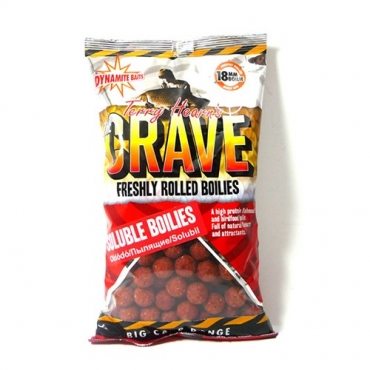 DYNAMITE BAITS BOILIES SOLUBLE FRESHY ROLLED THE CRAVE 18 MM (1 KG)