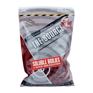 DYNAMITE BAITS BOILIES SOLUBLE THE SOURCE 18 MM (1 KG)