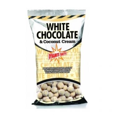 DYNAMITE BAITS BOILIES FRESHY ROLLED WHITE CHOCOLATE COCONUT CREAM 15 MM (1 KG)