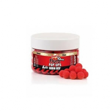DYNAMITE BAITS BOILIES POP-UP ROBIN RED FLURO 10 MM (56 G APROX)