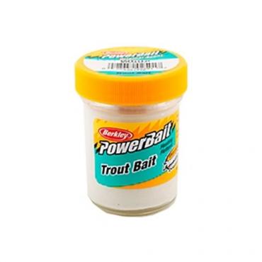 BERKLEY POWERBAIT TROUT BAIT MARSHMALLOW WHITE (50g)