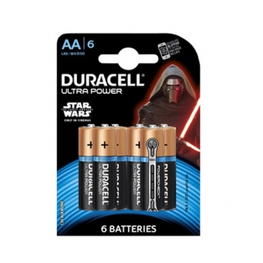 PILAS DURACELL ULTRA POWER AA (6ud)