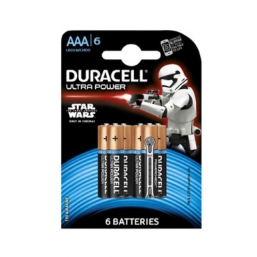 PILAS DURACELL ULTRA POWER AAA (6ud)