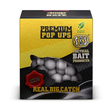 SBS PREMIUM POP-UPS KRILL HALIBUT BLANCO 16-18-20 MM (100 G)