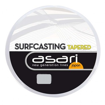 BAJO LINEA ASARI SURFCASTING TAPERED 0.16-0.45 MM (15Mx5)
