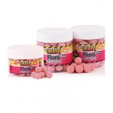 DYNAMITE BAITS BOILIES POP-UP THE CRAVE FLURO 10 MM (66 G)