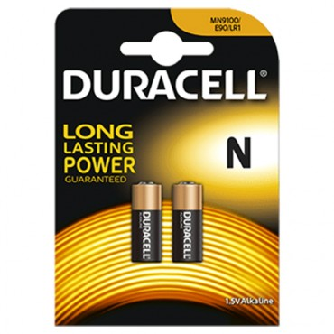 PILAS DURACELL ALCALINAS N (2ud)