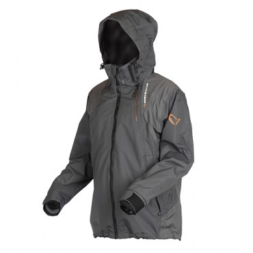CHAQUETA SAVAGE GEAR BLACK JACKET GREY M