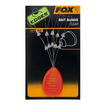 BAIT BUNGS FOX EDGES CLEAR (10ud)