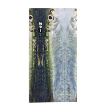 JIGSKINZ BLUEBACK HERRING SMALL 140x70 MM (4ud)