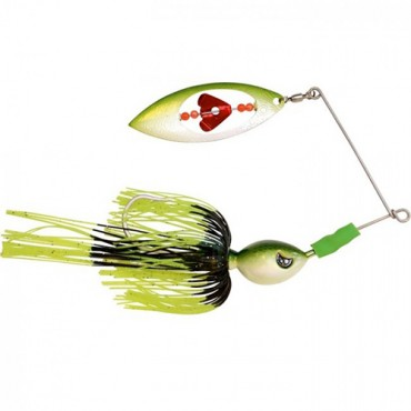 SPINNERBAIT BLACK CAT BIG SPINNER BAIT BLACK WAVE (60 G)