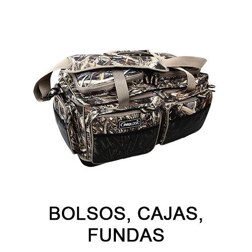 BOLSOS, CAJAS, FUNDAS