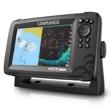 LOWRANCE HOOK REVEAL 7 TRANSDUCTOR 50/200 HDI ROW