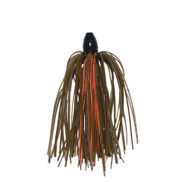 TUNGSTEN JIG RUBBER DCAST BAMA CRAW