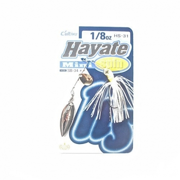 SPINNERBAIT CULTIVA HAYATE SPIN (1/8 OZ)