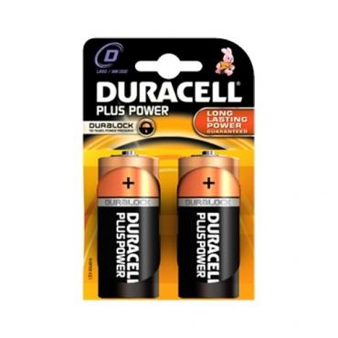 PILAS DURACELL PLUS POWER D (2ud)