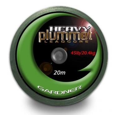 LEADCORE HEAVY PLUMMET GARDNER MARRON (45 LB, 20 M)