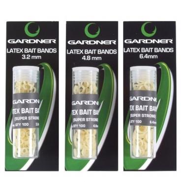 GOMAS GARDNER LATEX BAIT BANDS 6.4 MM (100ud)
