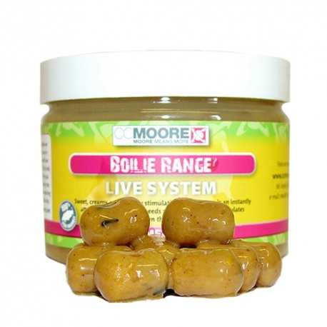 CCMOORE GLUGGED BOILIES HOOKBAIT LIVE SYSTEM 10x14 MM (50ud)
