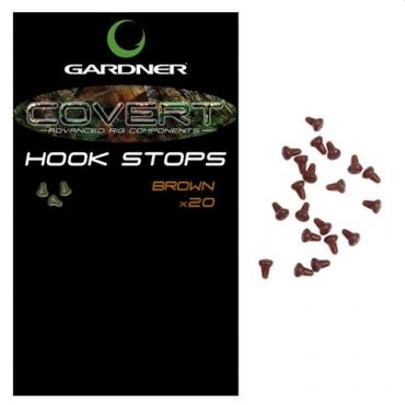 HOOK STOPS GARDNER COVERT BROWN (20ud)