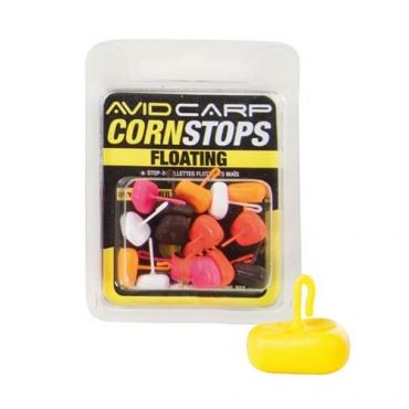 AVID CARP CORN STOPS FLOATING SHORT AMARILLO (15ud)