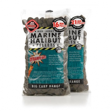 DYNAMITE BAITS PELLETS MARINE HALIBUT 21 MM (900 G)