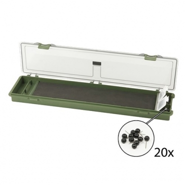CAJA CORMORAN CARP RIG BOX (345x9x26 MM)