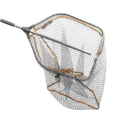 SACADERA SAVAGE GEAR PRO FOLDING RUBBER MESH L (65x50CM)