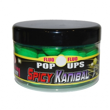 FUN FISHING BOILIES FLUO POPUPS SPICY KANIBAL 16 MM (90 G)