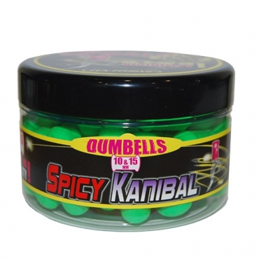 FUN FISHING DUMBELLS FLUO POPUPS SPICY KANIBAL 10-15 MM (90 G)