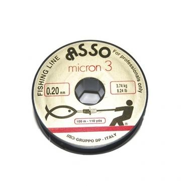 NYLON ASSO MICRON 3 (0.20 MM-100 M)