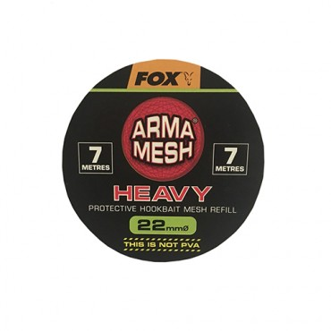 FOX ARMA MESH HEAVY 22 MM REFILL SPOOL (7 M)