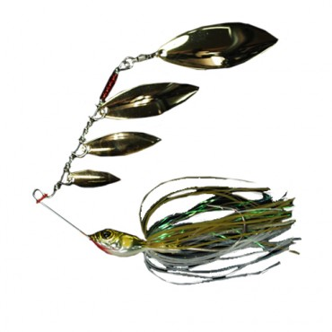 SPINNERBAIT BIOVEX STANGUN 4 WILLOW 3/8 OZ COLOR 01 (1ud)