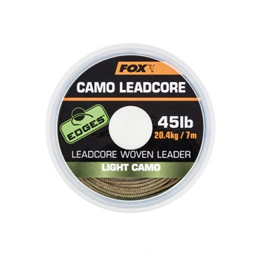 BAJO LINEA FOX EDGES CAMO LEADCORE LIGHT CAMO (45 LB-7 M)