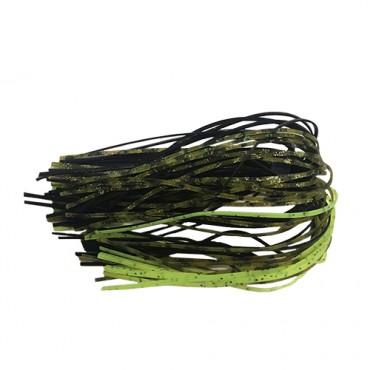 SILICONE SKIRT BLACK GREEN PUMPKIN CHARTREUSE