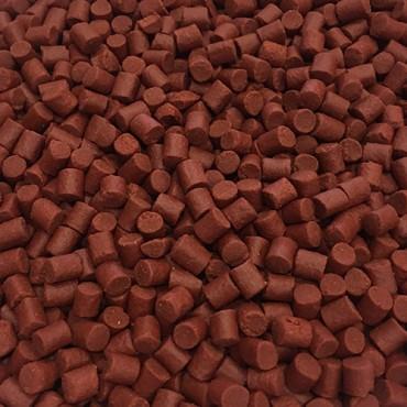 COPPENS CUBO PELLET KRILL ROJO 6 MM SIN AGUJERO (2.5 L-2 KG APROX)