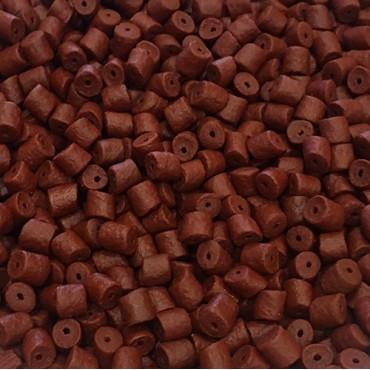 COPPENS CUBO PELLET KRILL ROJO 8 MM CON AGUJERO (2.5 L-2 KG APROX)