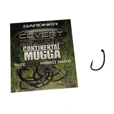 ANZUELO GARDNER COVERT DARK CONTINENTAL MUGGA 6 (10ud)