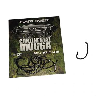 ANZUELO GARDNER COVERT DARK CONTINENTAL MUGGA 4 (10ud)