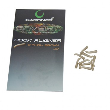HOOK ALIGNER GARDNER COVERT C-THRU BROWN LARGE (10ud)