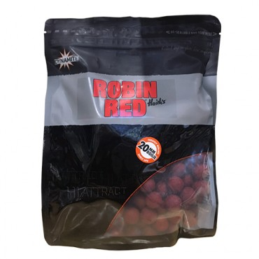 DYNAMITE BAITS BOILIES FRESHY ROLLED ROBIN RED 20 MM (1 KG)