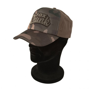 GORRA FOX CHUNK CAMO SOLID BACK BASEBALL CAP