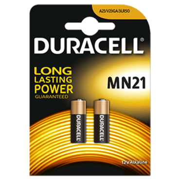 PILAS DURACELL ALCALINAS MN21 (2ud)