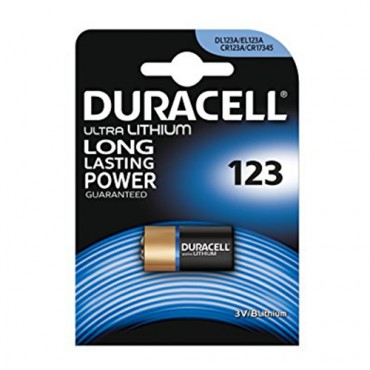 PILAS DURACELL ULTRA LITIO 123 (1ud)