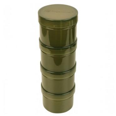 RIDGEMONKEY MODULAR HOOKBAITS POTS GREEN (4ud)